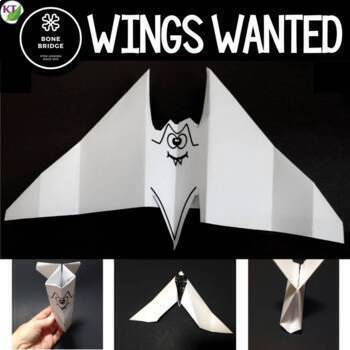 Halloween STEM Challenge: Wings Wanted
