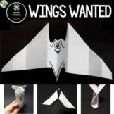 Halloween Bat STEM Challenge: Wings Wanted