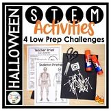 Halloween STEM Challenges for October