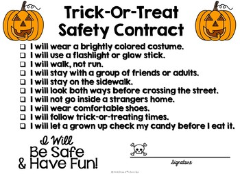 Halloween Safety Adapted Book- Trick-or-Treat Safety- Autism, Special Ed.