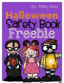 Halloween Safety Book {FREEBIE!}