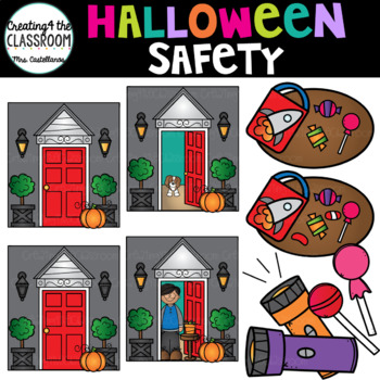 Halloween Safety Clip Art {Halloween Clip Art}