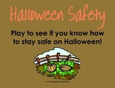Halloween Safety PDF Interactive Game to Learn how to Tric