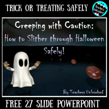 halloween safety tips on powerpoint by teachers unleashed tpt