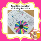 Function Notation Coloring