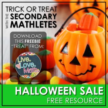 "Halloween Sale ""Treat"" - Limited Edition Freebie"