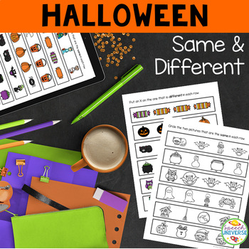 Halloween Same and Different