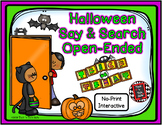 Halloween Say and Search Open-Ended Interactive Rewards