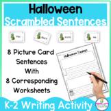 Halloween Sayings FUN Building Sentences