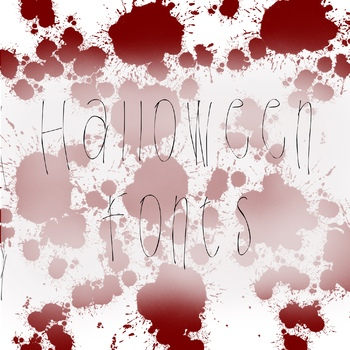 Halloween Scary Spooky Fonts