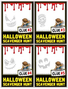 Halloween: Scavenger Hunt