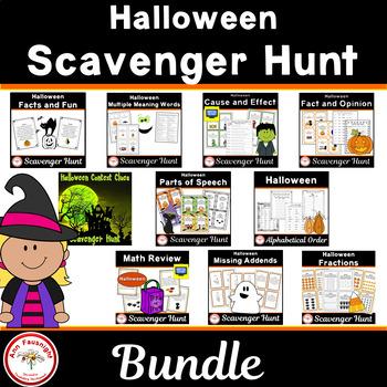 Halloween Scavenger Hunt Bundle