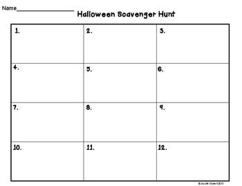 Math Word Problems- Halloween Task Cards