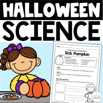Halloween Science:  5 Frightfully Fun Investigations  {K-3}