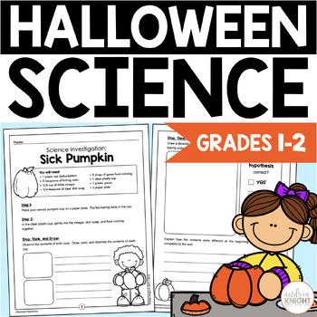 Halloween Science:  5 Frightfully Fun Investigations  {K-2}