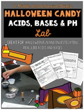 Halloween Science: Acids, Bases, pH of Halloween Candy