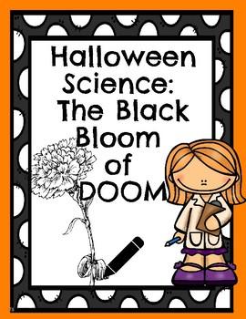 Halloween Science Bloom of Doom Experiment