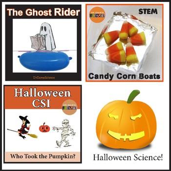 Halloween Science Bundle
