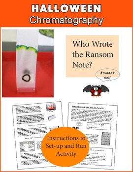 Halloween Science Chromatography