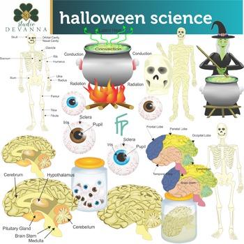 Halloween Science Clip Art