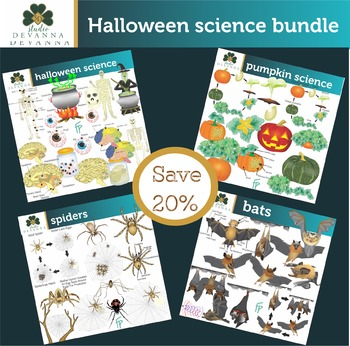 Halloween Science Clip Art Bundle