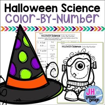 Halloween Science Color-By-Number