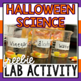 Halloween Science FREEBIE: Dissolving Candy Corn