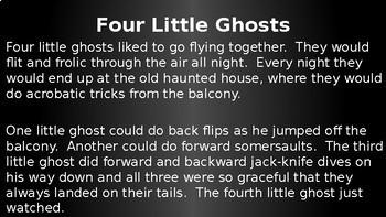 Halloween Science Ghosts