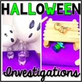 Halloween Science, Halloween Exploration, Investigations, Halloween STEM