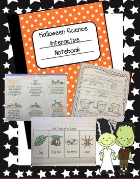 Halloween Science Interactive Notebook by The Teaching Chick