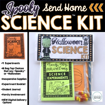 Halloween STEM Kits {Send Home Science!}