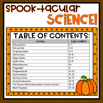 Halloween Science Lab Activity Bundle