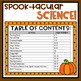 Halloween Science Activity Bundle