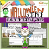 Halloween Science:  Mad Scientist at Work