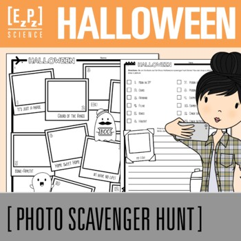 Halloween Science Photo Scavenger Hunt