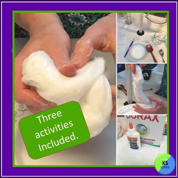 Slime Science Unit:  Lab And STEM Experiment For Grades 2nd/3rd