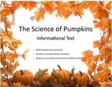 Halloween Science:  The Science of Pumpkins