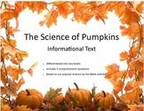 Halloween Science:  The Science of Pumpkins