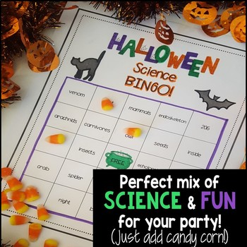Halloween Life Science Activity - BINGO
