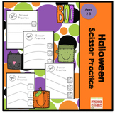 Halloween Scissor Practice