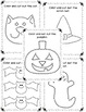 Halloween Scissor Practice and Coloring Sheets