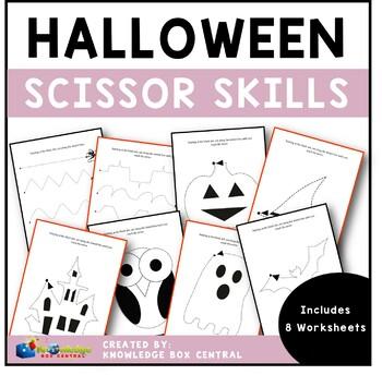 Halloween Scissor Skills