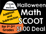 Halloween Scoot ~Addition and Subtraction~ Dollar Deal