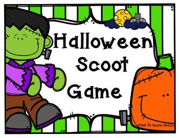 Halloween Scoot Game!