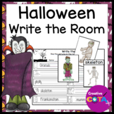 Halloween Scoot, Write the Room