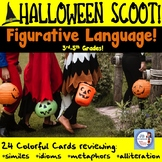 Halloween Scoot for Figurative Language (3rd-5th Grades)