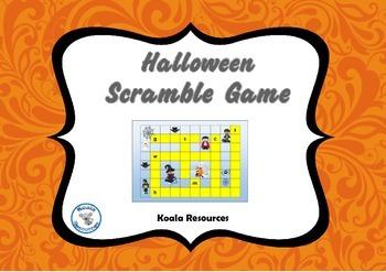 Halloween Scramble Word Quiz Games