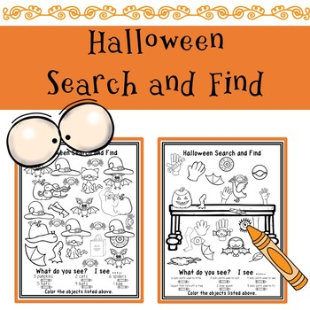 Halloween Search and Find