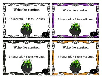 Halloween Math First Bundle & Would You Rather Halloween Slideshow