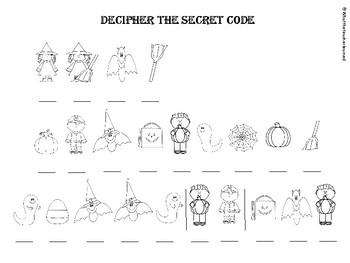 Halloween Secret Code